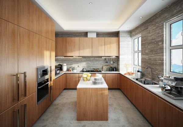 50款开放式厨房设计,每种都是高级定制.jpg