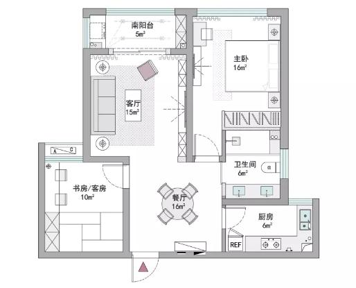 【轻奢风】小房子也可以很有档次.png