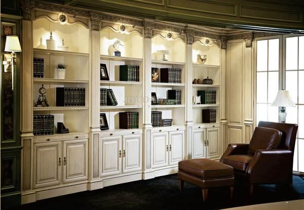 家装定制实木书柜时,需注意什么.jpg
